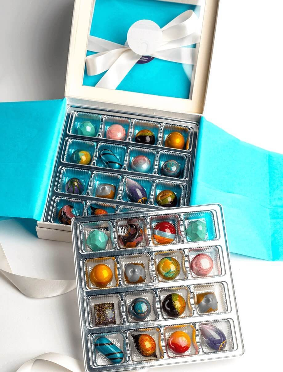 32 Pc. Chocolate Gift Box | Shop Fine Chocolate & Bonbons Online