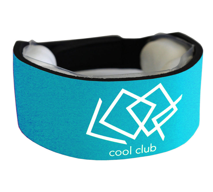 aqua blue cool collar cooling quicksnow