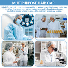 Disposable Bouffant Caps, 100 count