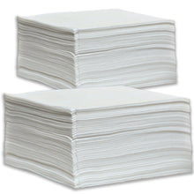 50 Large Disposable Towels (White) for salon and spa