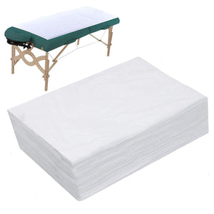 "Spa Bed Sheets Disposable 20 sheets 75"" x 31.5"".  Massage Table Sheet Waterproof Bed Cover Non-woven Fabric"