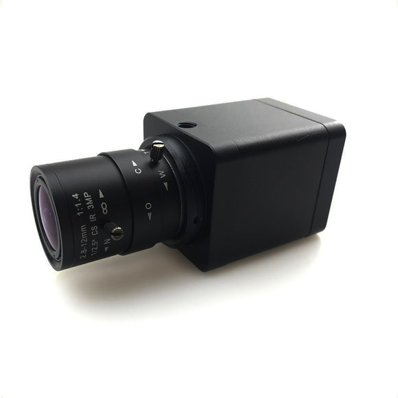OSYBZ HD 1080P Lens 2.8-12mm Industry Video Live 2.0 MP Supports TF Card Storage HDMI Video Output Camera