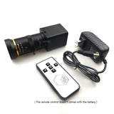 OSYBZ HD 1080P Lens 5-50mm Industry Video Live 2.0 MP Supports TF Card Storage HDMI Video Output Camera