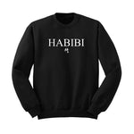 Classic Black and White Habibi Crewneck