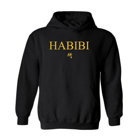 Classic Black and Gold Habibi Hoodie