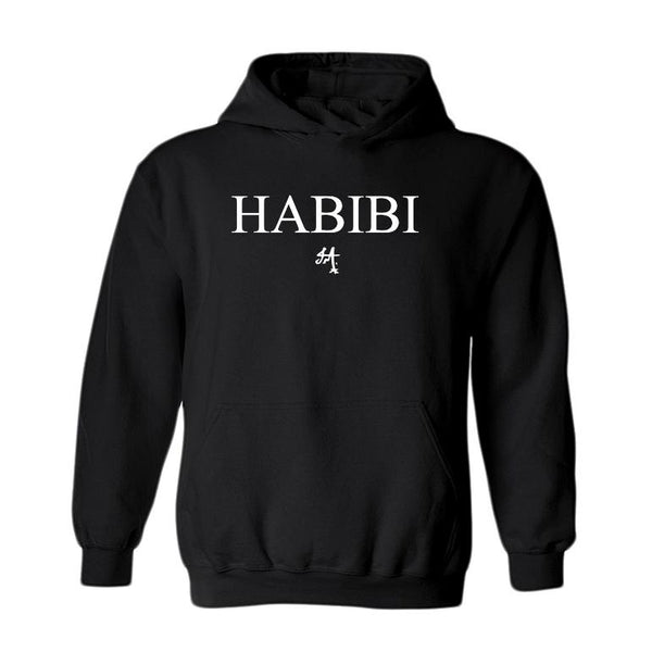 Classic Black and White Habibi Hoodie