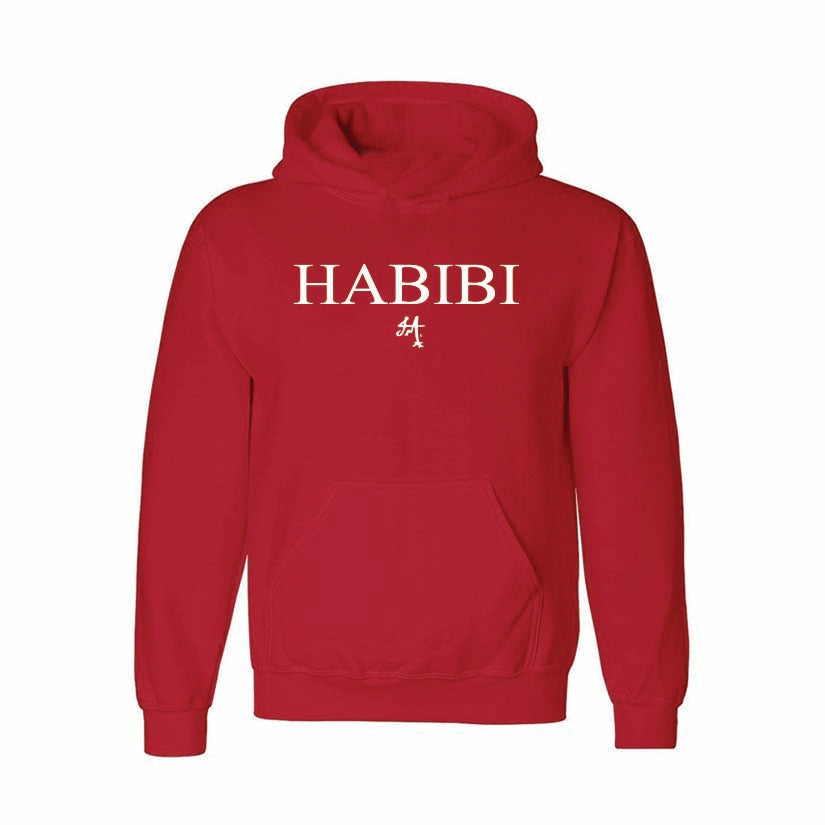 Classic Red and White Habibi Hoodie