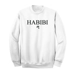 Classic White and Black Habibi Crewneck