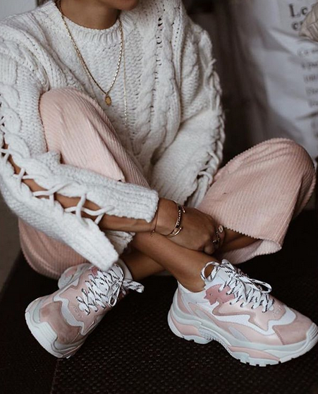 Spring trend: Chunky trainers