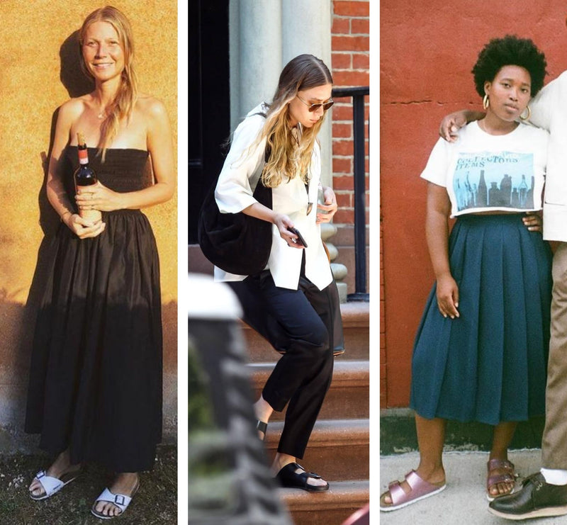 3 ways to style celebrities' favourite Birkenstocks