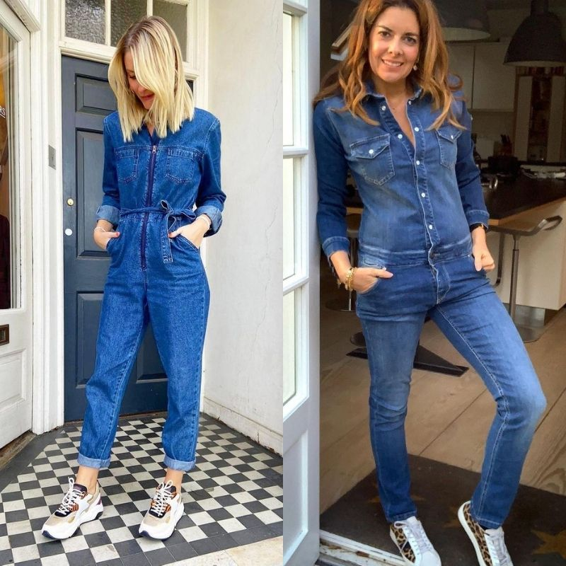 Denim boilsuit