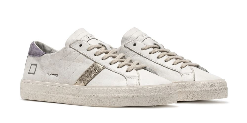 D.A.T.E. hill low trainers