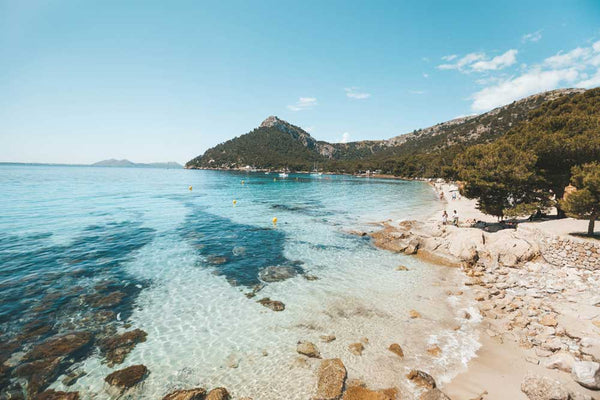 Beach in Mallorca, Balearic Islands