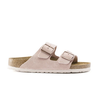 Birkenstock pink suede arizona sandals UK
