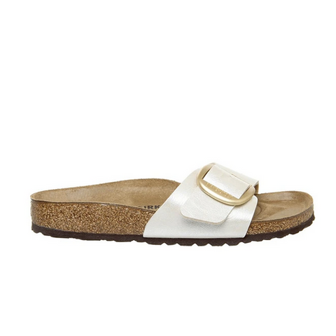 birkenstock white madrid women's sandals