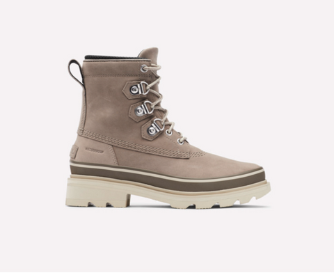 The Sorel Lennox winter military boot in taupe