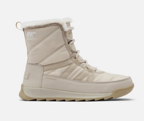 The sorel whitney winter boots in cream
