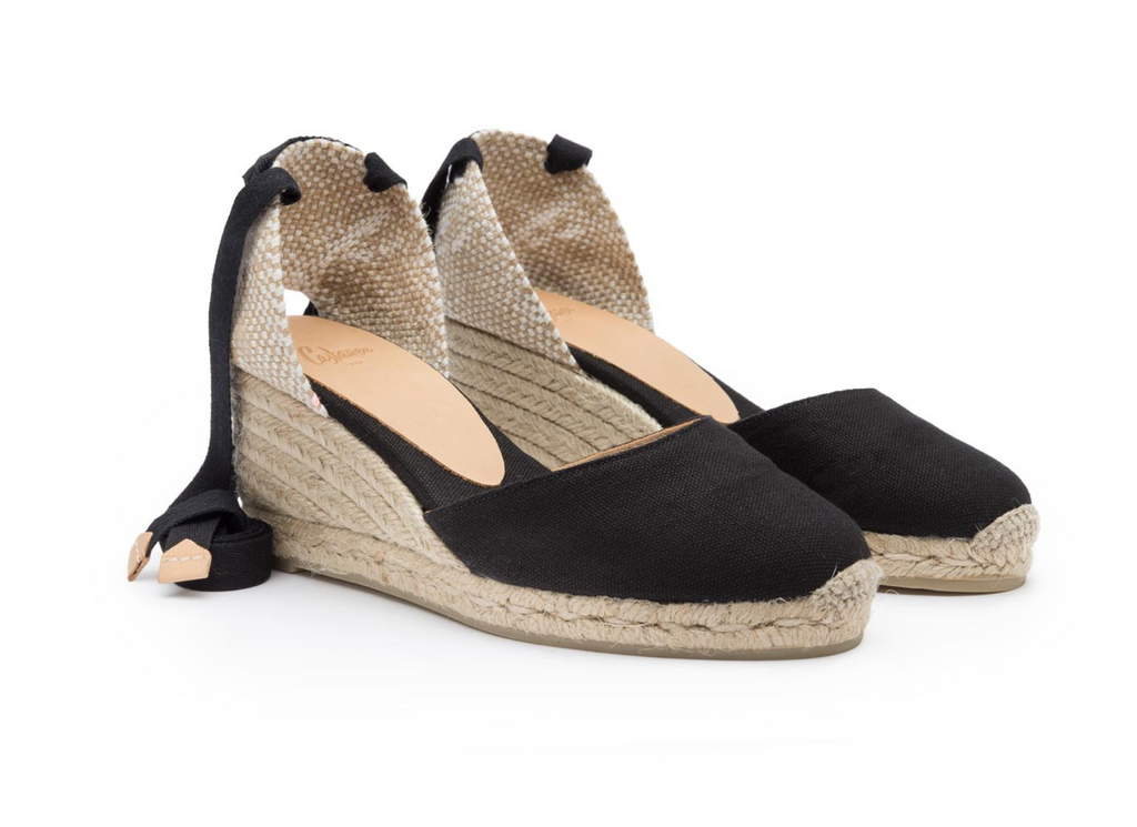 wedge heel espadrilles spanish