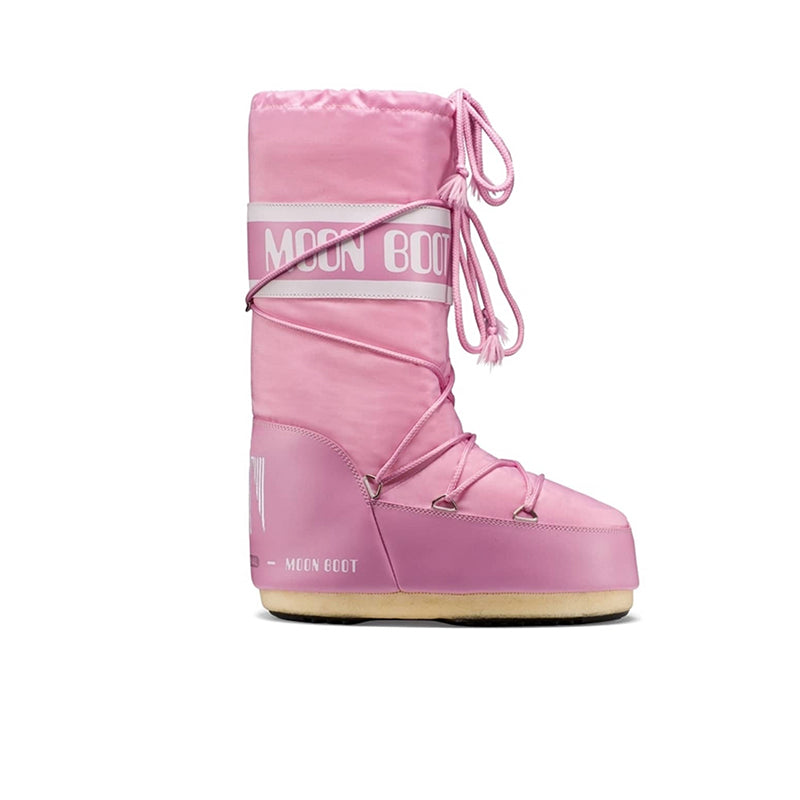 MOON BOOT Classic Nylon Pink Kids Boots