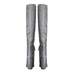 Pura Lopez Eclipse Sequins Over-the-knee Boots