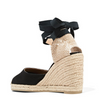 closed toe wedge sandals UK