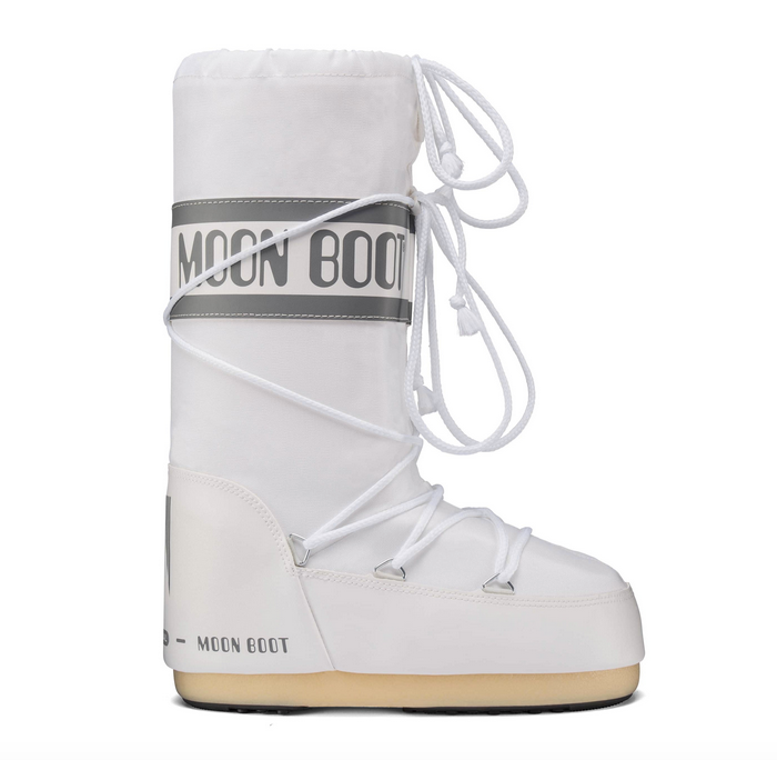 MOON BOOT Classic Nylon White Women Boots