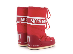 MOON BOOT Classic Nylon Red Women Boots