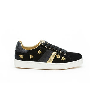 My Fashion Tribu x Serafini J.Connors Black & Bees Trainers