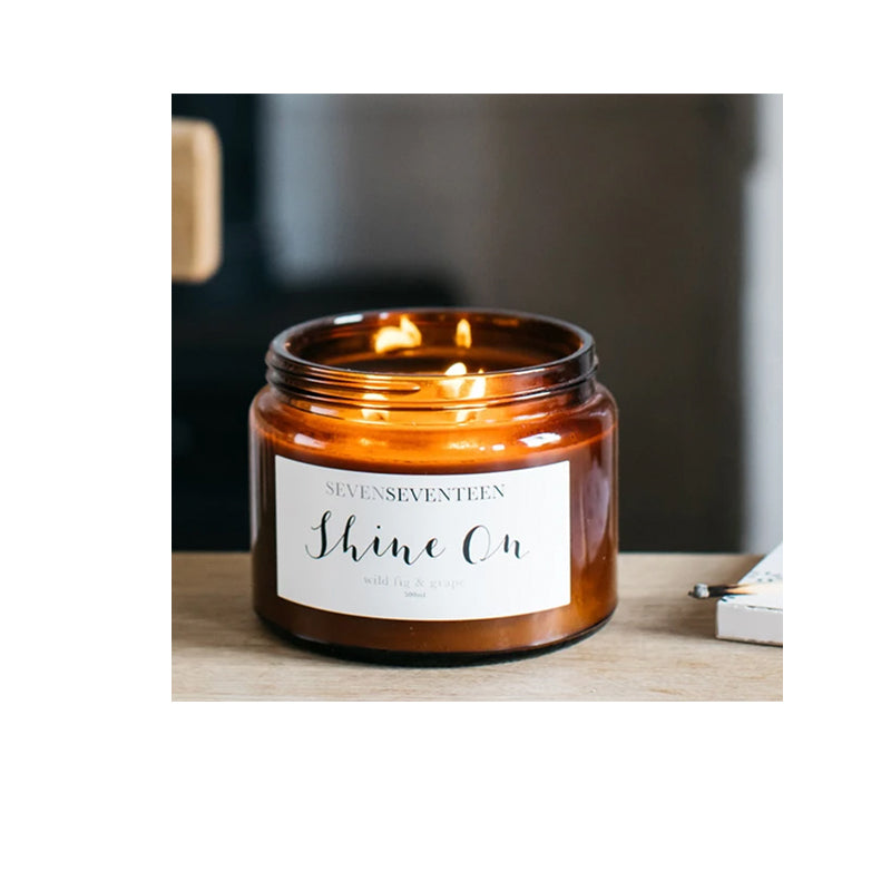 Seven Seventeen Shine on Wild Fig & Grape Candle