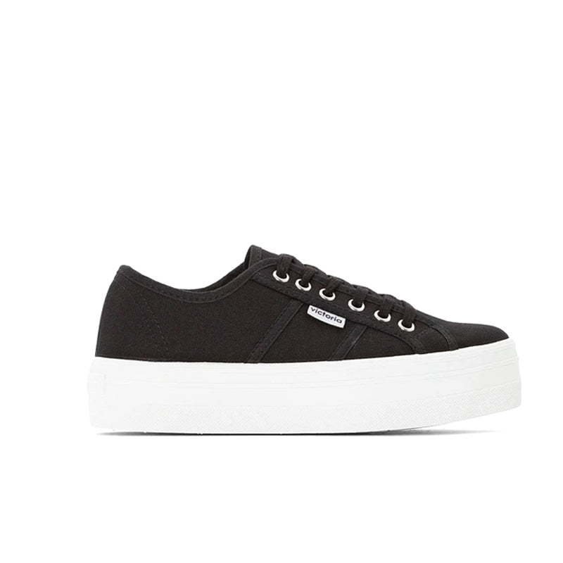 Victoria Shoes Barcelona Navy Canvas Trainers