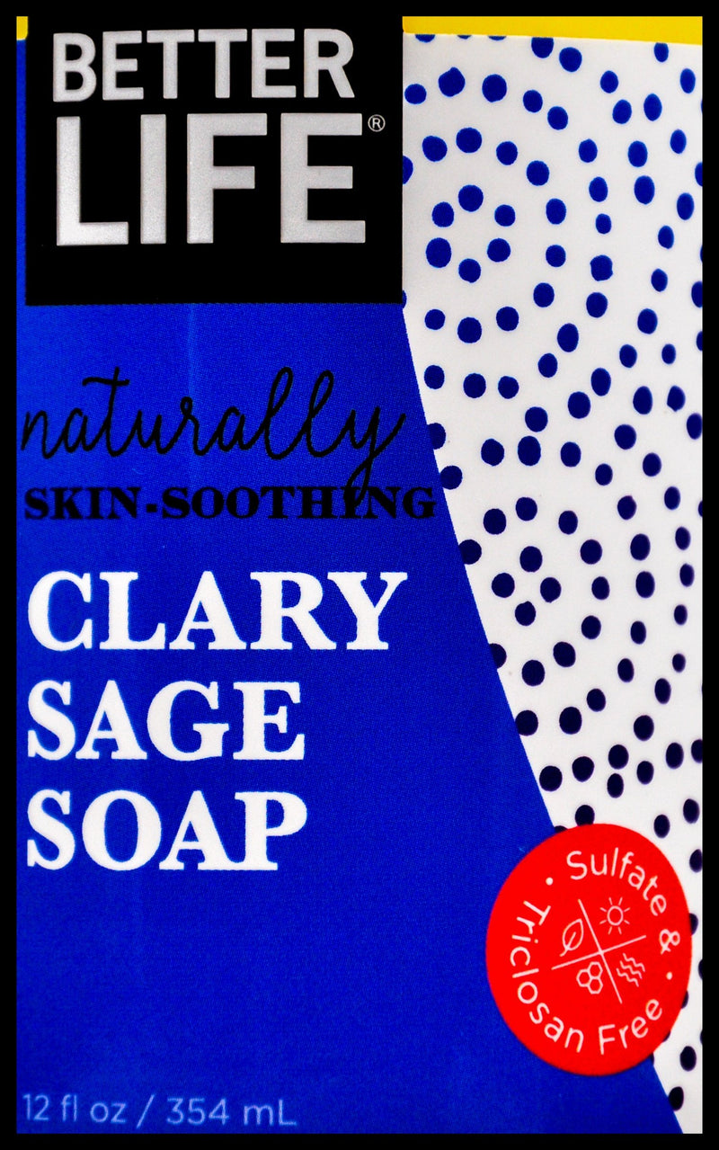 Better Life Natural Hand and Body Soap - Clary Sage (354ml) - Organics.ph