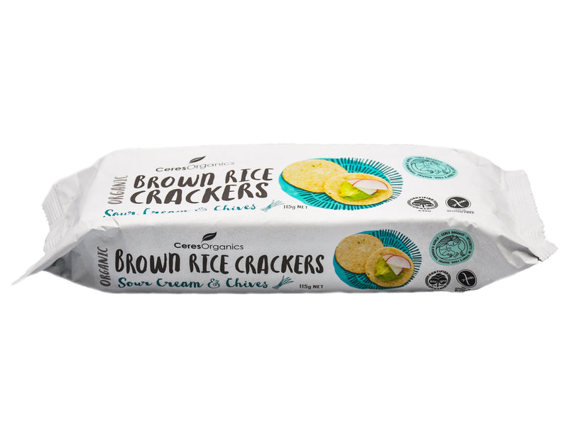 Ceres Organics Brown Rice Crackers - Organics.ph