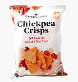 Ceres Organics Chickpea Crisps Sriracha Thai Chilli - Organics.ph