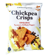 Ceres Organics Chickpea Crisps - Turmeric & Black Pepper (100g) Turmeric & Black Pepper - Organics.ph