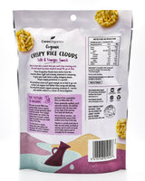 Ceres Organics Crispy Rice Clouds - Salt & Vinegar Smash (50g) - Organics.ph