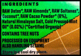 Ceres Organics Raw Wholefood Bar - Cacao Mint (50g) - Organics.ph