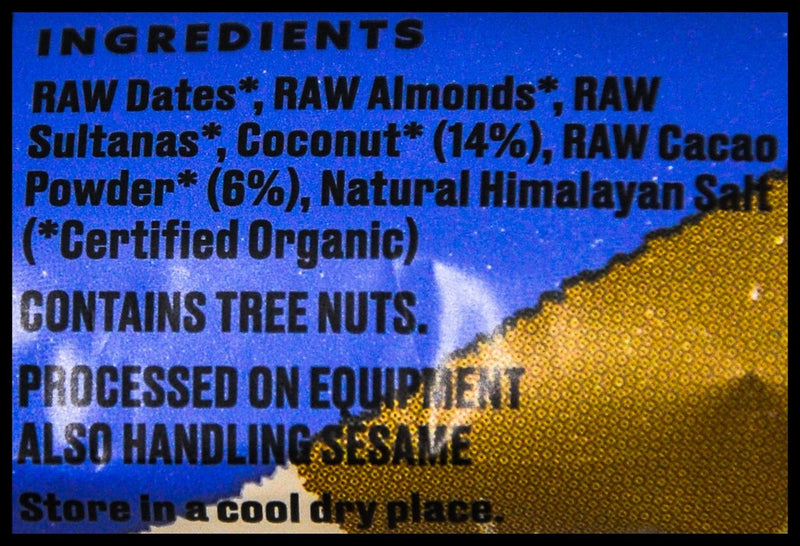 Ceres Organics Raw Wholefood Bar - Coconut Cacao Rough (50g) - Organics.ph
