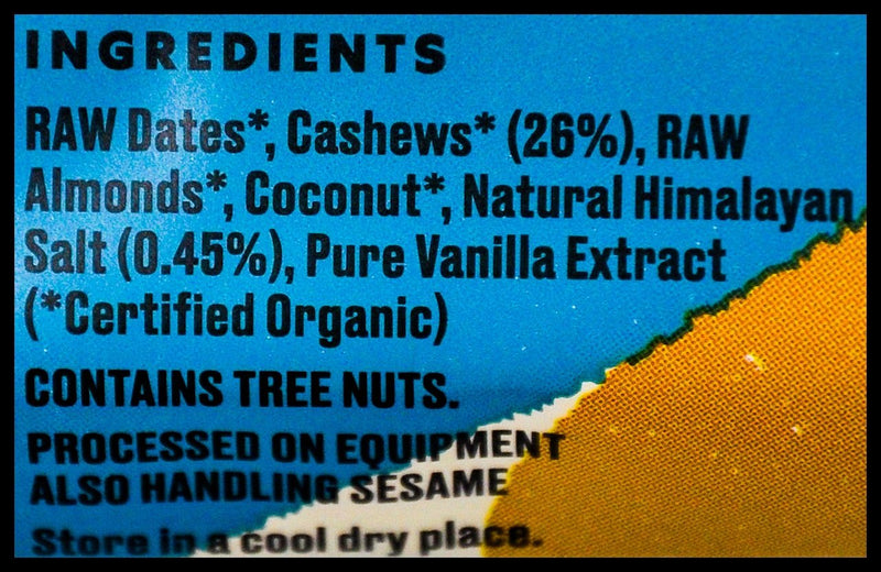 Ceres Organics Raw Wholefood Bar - Salted Caramel (50g) - Organics.ph