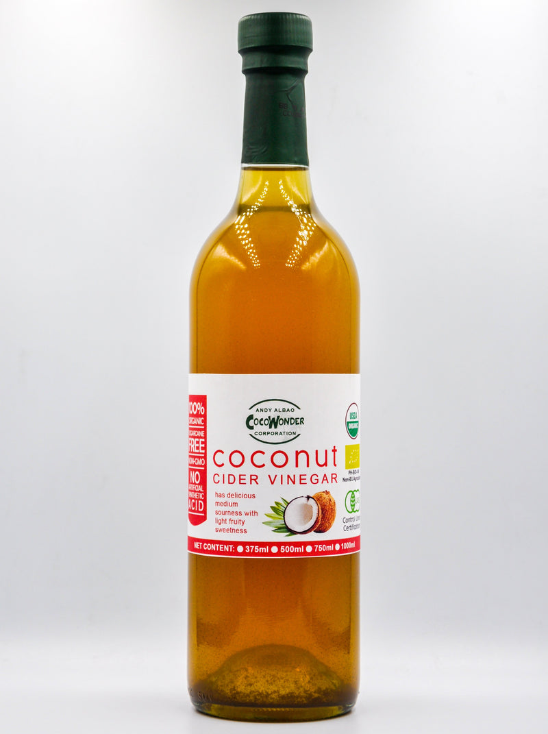 CocoWonder Coconut Cider Vinegar 750ml - Organics.ph