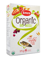 Emco Organic Bio Muesli - Crunchy w/ Red Fruits (375g) - Organics.ph