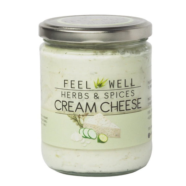 Feel Well Cream Cheese - Herbs and Spices (400ml) - Pre Order (1 week delivery) - Organics.ph