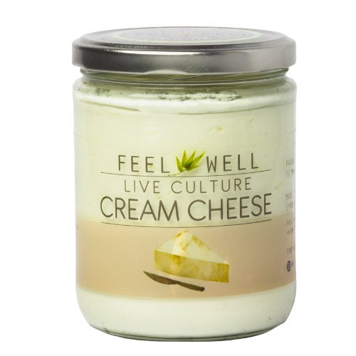 Feel Well Cream Cheese - Plain (400ml) - Pre Order (1 week delivery) - Organics.ph