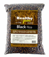 Healthy Grains Organic Black Rice 5kg - Organics.ph