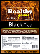 Healthy Grains Organic Black Rice - Organics.ph