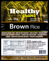 Healthy Grains Organic Brown Rice - Organics.ph