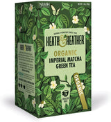 Heath and Heather Organic Green Tea - Imperial Matcha (20 tea bags) Imperial Matcha - Organics.ph