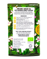 Heath and Heather Organic Green Tea - Manuka Honey (20 tea bags) - Organics.ph