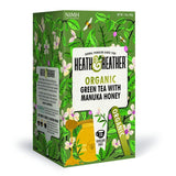 Heath and Heather Organic Green Tea - Manuka Honey (20 tea bags) Manuka Honey - Organics.ph