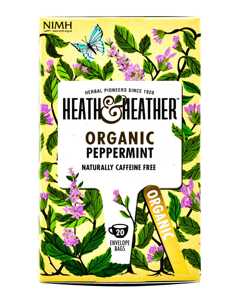 Heath and Heather Organic Tea - Peppermint (20 tea bags) - Organics.ph