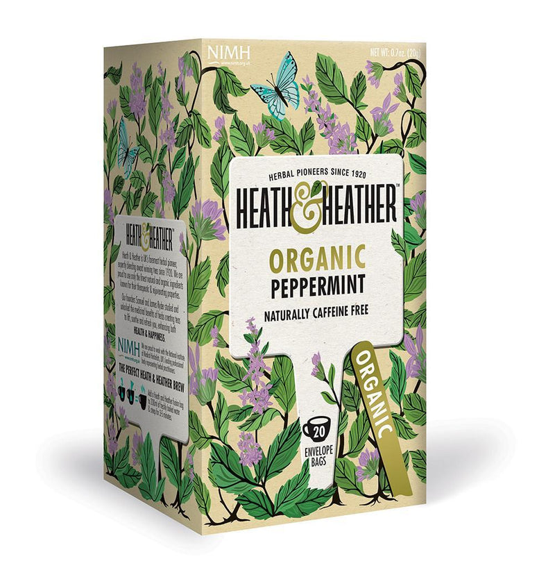 Heath and Heather Organic Tea - Peppermint (20 tea bags) Peppermint - Organics.ph